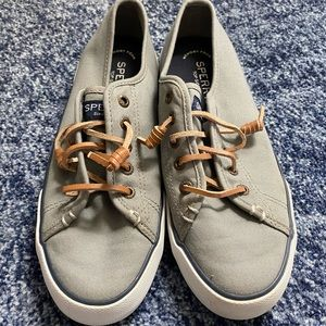 Sperry Top-Sider Womens Gray Size 7M